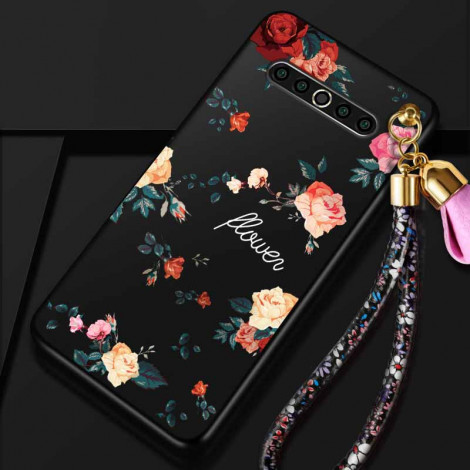 Beautiful Flower Series Ultra Thin Soft Silicone Back Cover Case For MEIZU 17 Pro/17