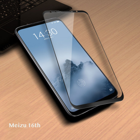 Full Covered Soft Tempered Glass Screen Protector For Meizu 16th/16th Plus/16X