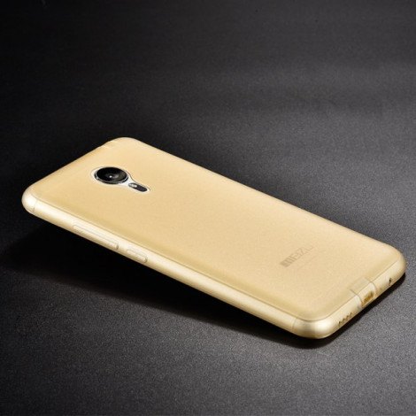 Meizu MX5 TPU transparent protection ultra-thin frosted back cover Case