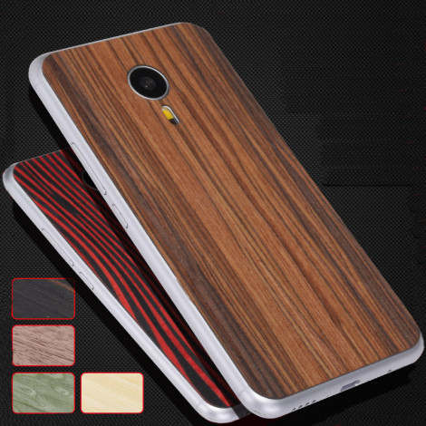 Ultra-thin Solid Wood Back Sticker For Meizu Pro5