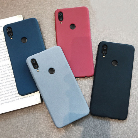 Ultra Thin Full Surround Frosted Soft Silicone Back Cover Case For Meizu M9 Note