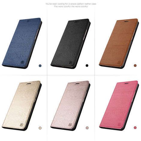 Wood Texture Classic Flip Leather Protective Case For Meizu M6 Note/M6T/M6S/M6