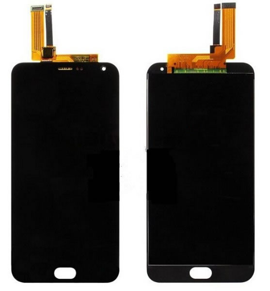Meizu M2 Note Black LCD Display + Touch Screen Digitizer Assembly Replacement Part