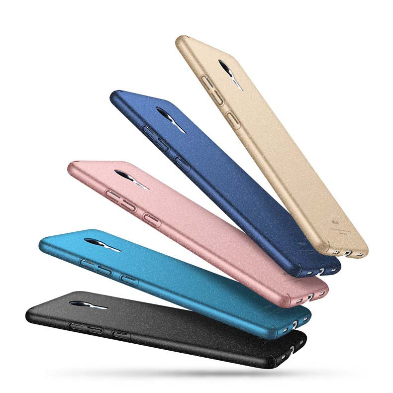 Msvii Frosted Plastic Hard Shell Back Cover Case For Meizu M3S/M3 Note