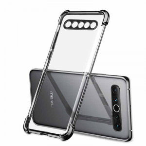 Air Bag Anti Fall Silicone Ultra Thin Transparent Back Cover Case For MEIZU 17 Pro/17