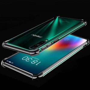 Air Bag Drop-proof Silicone Ultra Thin Transparent Back Cover Case For Meizu 16T