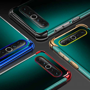 Air Bag Drop-proof Silicone Ultra Thin Transparent Back Cover Case For MEIZU 17 Pro/17