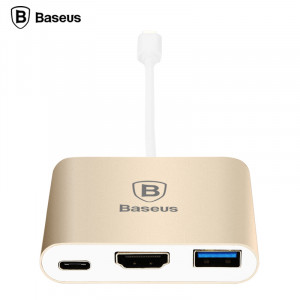 Baseus Sharp Series Type-C To HDMI+HUB Adapter For Macbook