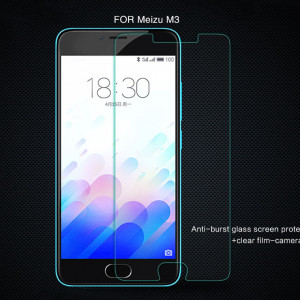 Brand H Anti-Explosion Glass Screen Protector For MEIZU M3