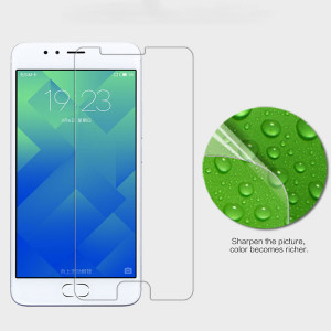 Brand High Quality Super Clear Anti-fingerprint Protective Screen Protector For Meizu M5S