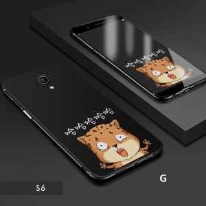 Cartoon Series Ultra Thin Full Surround Micro Frosted Soft Silicone Back Cover Case For Meizu M6S