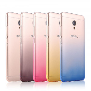 Colorful Gradual Change Style Soft Silicon Protective Back Case For Meizu M5/M5S
