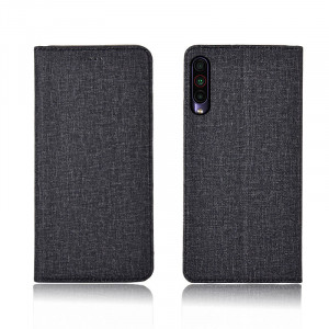 Cotton Fiber Texture Classic Flip PU Leather Protective Case For Meizu 16T