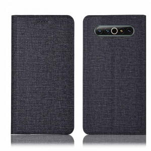 Cotton Fiber Texture Classic Flip PU Leather Protective Case For MEIZU 17 Pro/17