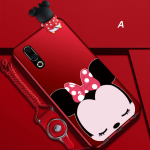 Creative Cartoon Ultra Thin Micro Frosted Silicone Soft Back Cover Case For MEIZU 16S