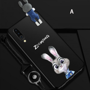 Creative Cartoon Ultra Thin Micro Frosted Silicone Soft Back Cover Case For MEIZU 16XS