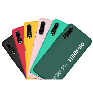 Fashion Letter Series Ultra Thin Micro Frosted PC Hard Cover Case For MEIZU 16S