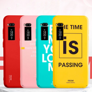 Fashion Words Series Ultra Thin Micro Frosted PC Hard Cover Case For Meizu Pro7/Pro6 Plus/Pro6/Pro5/U10/U20/V8