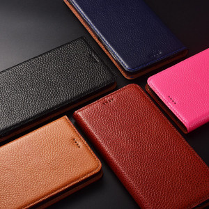 Fashionable Litchi Texture Flip Leather Protective Case With Stand Function For Meizu 16s Pro/16s/16X/16XS