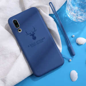 Full Protection Deer Series Liquid Silicone Protective Case For Meizu 16S