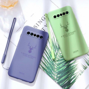 Full Protection Deer Series Liquid Silicone Protective Case For MEIZU 17 Pro/17
