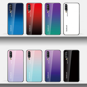 Full Protection Glass Back Cover+TPU Bumper Case For MEIZU 16T