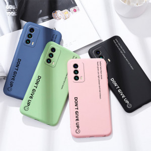 Full Protection Letter Series Liquid Silicone Protective Case For MEIZU 18 Pro/18