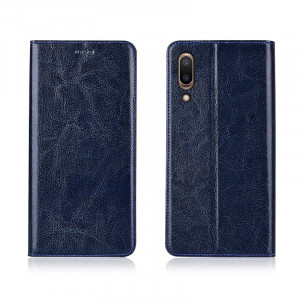 Genuine Cowhide Leather Flip Protection Case Cover For Meizu E2/E3