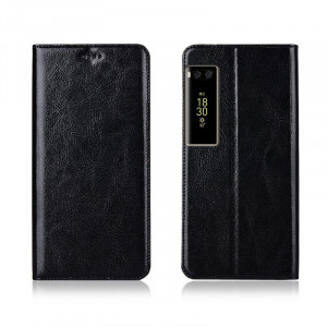 Genuine Cowhide Leather Flip Protection Case Cover For Meizu Pro7 Plus/Pro7