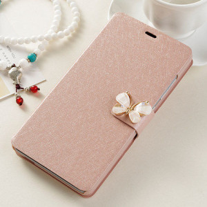 High Quality Silk Grain Multi-Function Flip Leather Protective Case For Meizu M3 Note
