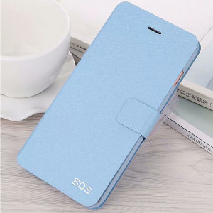 High Quality Silk Grain Multi-Function Flip Leather Protective Case For Meizu X8/M8/V8