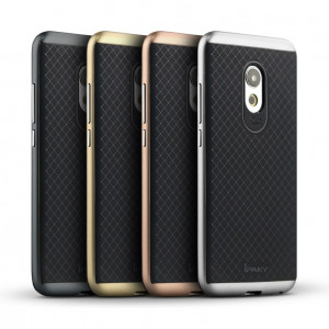 IPAKY Hybrid Case PC Frame With TPU Cover for Meizu Pro 6