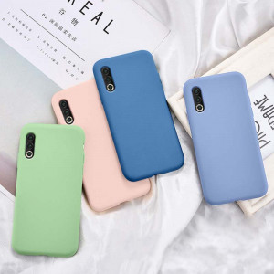 Liquid Silicone Skin Touch Feeling Protective Back Cover Case For Meizu 16s Pro
