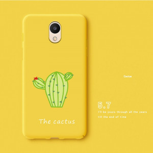 Lovely Cartoon Ultra Thin Full Surround Skin Feeling Soft Silicone Back Cover Case For Meizu M6S