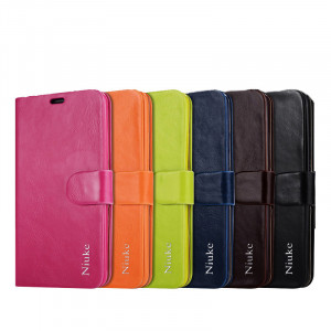 Luxury Oil Wax Leather Protective Case For Meizu M2