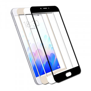 Meizu M3/M3S Colorful Tempered Glass Screen Full Protection