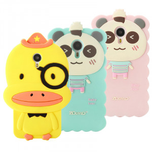 Meizu MX4 Pro 3D Cartoon Soft Silicone Skin Case