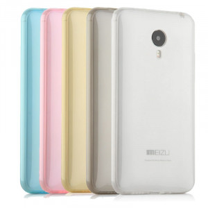 Meizu MX4 Pro Simple Thin Transparent TPU Back Cover case