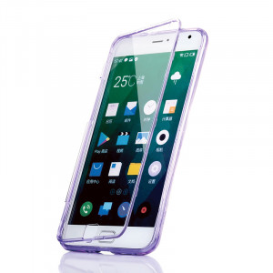Meizu MX4 Pro Sofu TPU Case with Touchable Front PC Cover