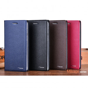 Mileage Series Genuine Cowhide Flip Leather Protective Case For Meizu M3X