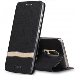 Mofi Classic Contrasting Series Flip Leather Protective Case With Stand Function For Meizu 15/15 Plus
