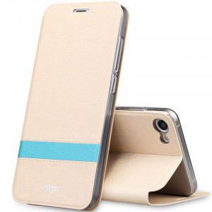 Mofi Classic Contrasting Series Flip Leather Protective Case With Stand Function For Meizu U20/U10