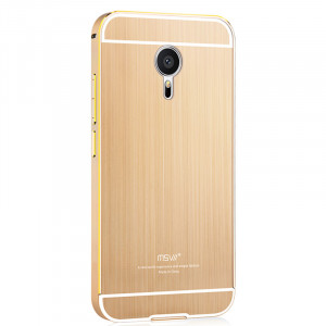 Msvii Metal Bumper Frame with Back protective cover For Meizu MX5