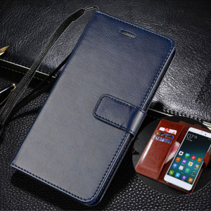 Multi-Function Wallet Style Classic Flip Leather Protective Case For Meizu M9 Note