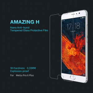 NILLKIN Amazing H Anti-Explosion Glass Screen Protector For Meizu Pro 6 Plus