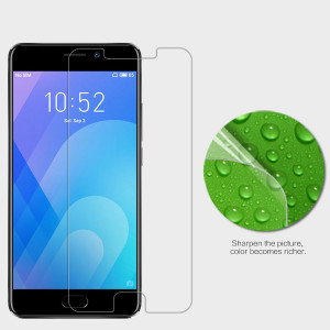 NILLKIN Super Clear Anti-fingerprint Protective Screen Protector For Meizu M6 Note