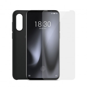 Original Meizu 16s Pro PC Cover Case + Super Clear Screen Protector Set