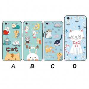 Painting Relief Cartoon Soft Silicone Back Cover Case For Meizu 16th Plus/16th/16X