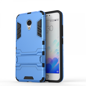 PC With Silicone Hybrid Back Cover Case For Meizu M3 Note
