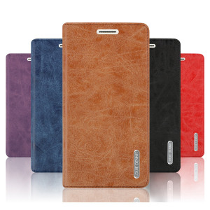PU Leather Flip Case Stand Wallet Cover for Meizu M3 Max